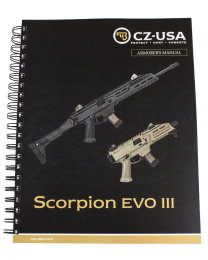 CZ SCORPION EVO ARMORER'S MANUAL
