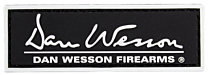 "DAN WESSON 1"" x 3"" PATCH, BLACK"